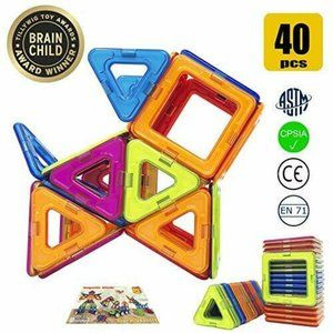 Happy Genius Magnetic Building Blocks Toys for Kid